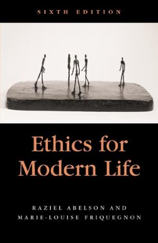 9780312157616: Ethics for Modern Life