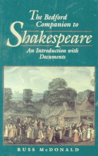 9780312158576: The Bedford Companion to Shakespeare: An Introduction With Documents