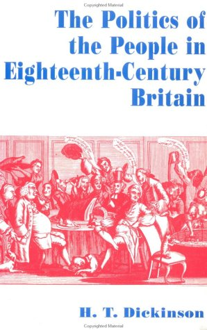 9780312160333: The Politics of the People in Eighteenth-Century Britain