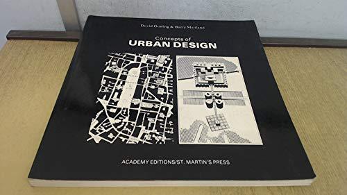 9780312161224: Concepts of Urban Design