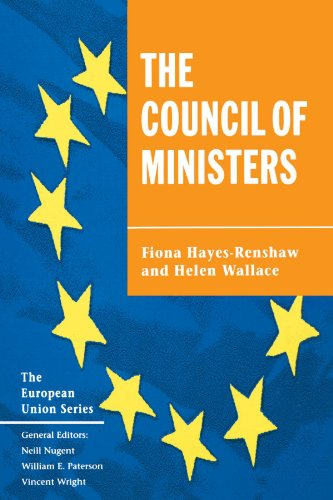 9780312164119: The Council of Ministers (European Union)
