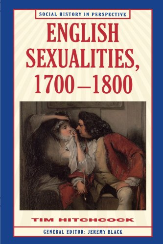 9780312165741: English Sexualities, 1700-1800 (Social History in Perspective (St Martins))