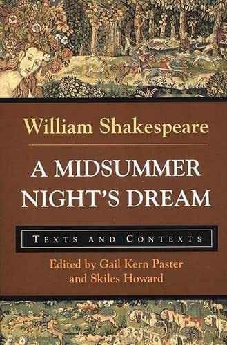 9780312166212: A Midsummer Night's Dream: Texts and Contexts (Bedford Shakespeare)