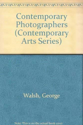 9780312167912: Contemporary Photographers (Contemporary Arts Series)