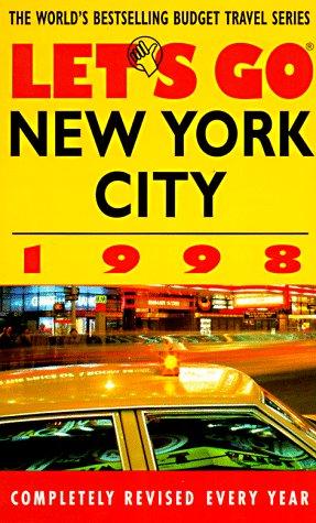 9780312168988: Let's Go 98 New York City (Annual)