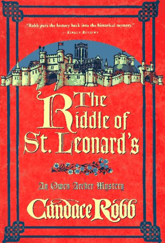 9780312169831: The Riddle of St. Leonard's: An Owen Archer Mystery