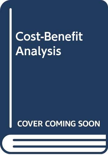 9780312170080: Cost-Benefit Analysis
