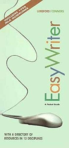 Easy Writer: A Pocket Guide: Andrea A. Lunsford,