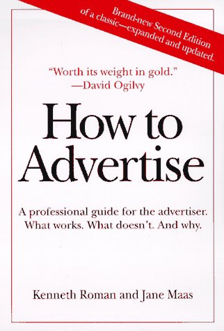 9780312171087: How to Advertise