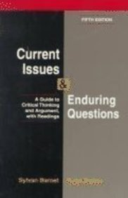 9780312171544: Current Issues and Enduring Questions