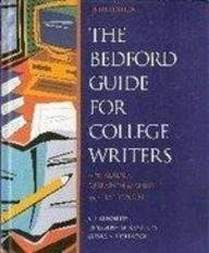9780312171568: Bedford Guide for College Writers with Reader Research Manual