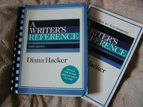 9780312172169: A Writer's Reference (Internet Edition)