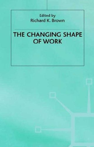 9780312172510: The Changing Shape of Work