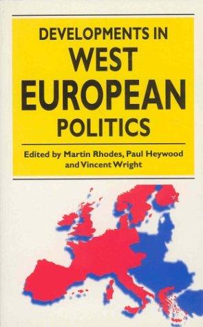 9780312173401: Developments in West European Politics