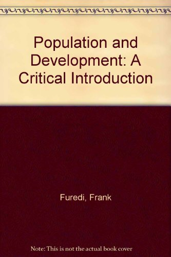 9780312176563: Population and Development: A Critical Introduction