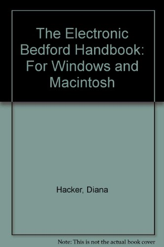 9780312178161: The Electronic Bedford Handbook: For Windows and Macintosh