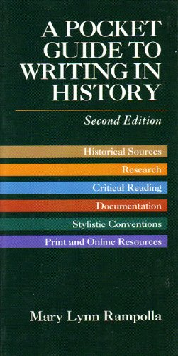 9780312180065: Pocket Guide to Writing History
