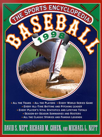 9780312181833: Sports Encyclopaedia 1998 (Sports Encyclopedia Baseball)