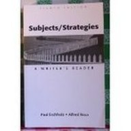 9780312182670: Subjects/Strategies: A Writer's Reader