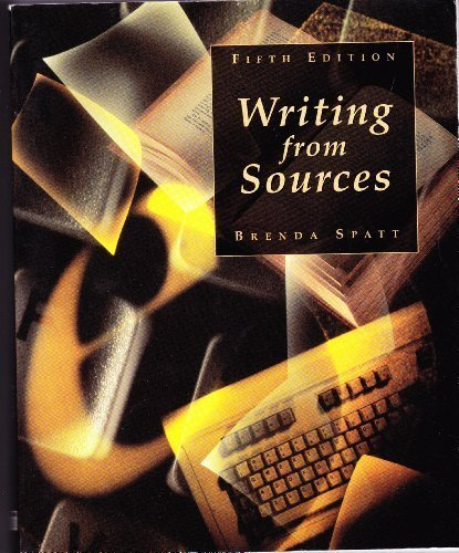 9780312183233: Writing from Sources