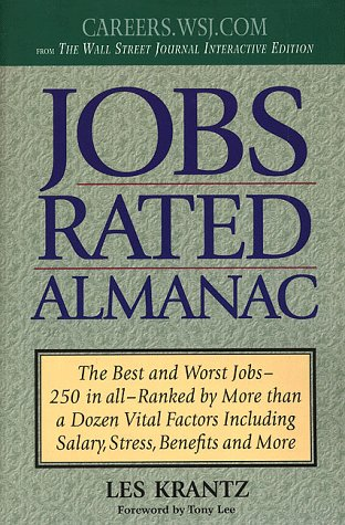 9780312183998: Jobs Rated Almanac: The Best and Worst Jobs - 250 in All - Ranked by More Than a Dozen Vital Factors Including Salary, Stress, Benefits and More