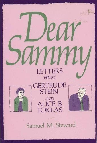 9780312185428: Dear Sammy: Letters from Gertrude Stein and Alice B. Toklas