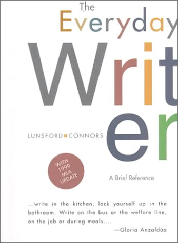 9780312187934: The Everyday Writer: A Brief Reference
