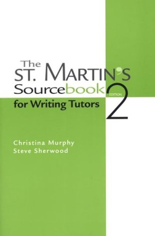 9780312188504: The St. Martin's Sourcebook for Writing Tutors