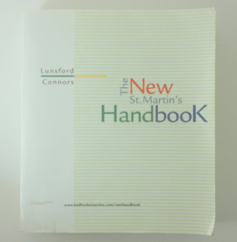 The New St. Martin's Handbook: Andrea A. Lunsford;