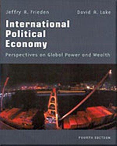 9780312189693: International Political Economy