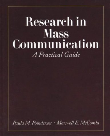 9780312191627: Research in Mass Communication: A Practical Guide