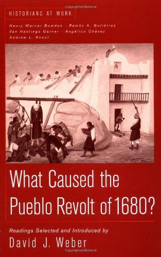 9780312191740: What Caused the Pueblo Revolt of 1680? (Historians at Work)