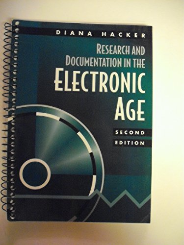 9780312191931: Research and Documentation in the Electronic Age