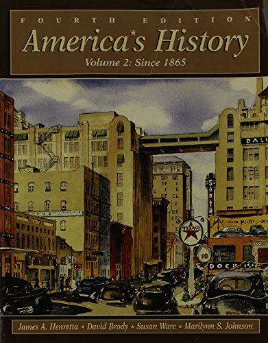 9780312193898: America's History: Since 1865
