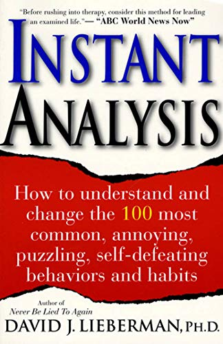 9780312194666: Instant Analysis: How to Get the Truth in 5 Minutes or Less in Any Conversation or Situation