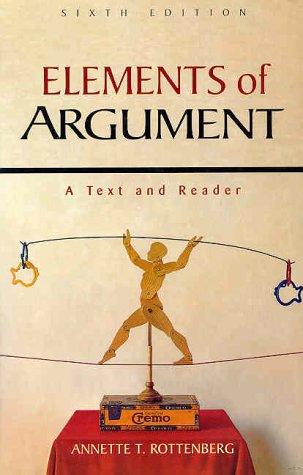 an analysis of the elements of argument by annette rottenberg