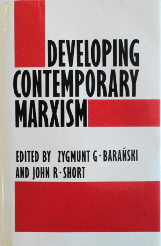 9780312196592: Developing Contemporary Marxism