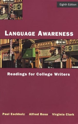 9780312197681: Language Awareness: Readings for College Writers