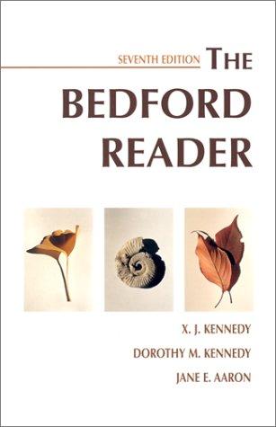 9780312197704: Bedford Reader