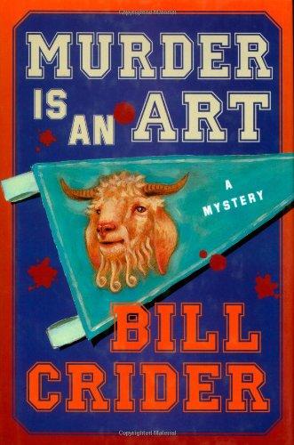 Murder is an Art: Crider, Bill