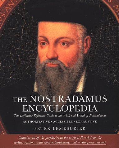 9780312199944: Nostradamus Encyclopedia