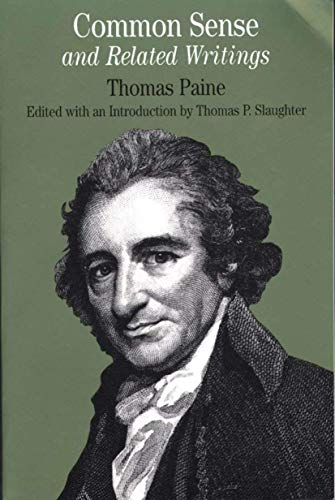 Common Sense: and Related Writings (Bedford Cultural: Paine, Thomas