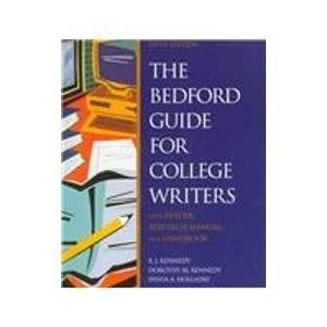 9780312201845: The Bedford Guide for College Writers: With Reader, Research Manual, and Handbook