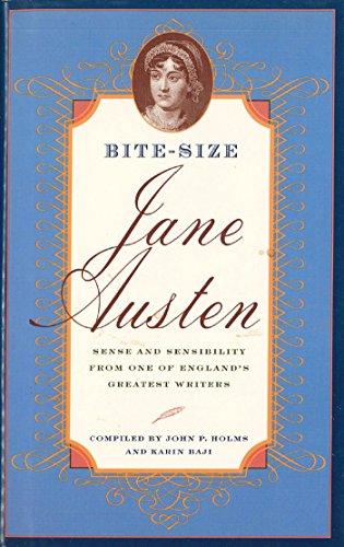 Bite-Size Jane Austen: Sense & Sensibility from: Austen, Jane; Holms,