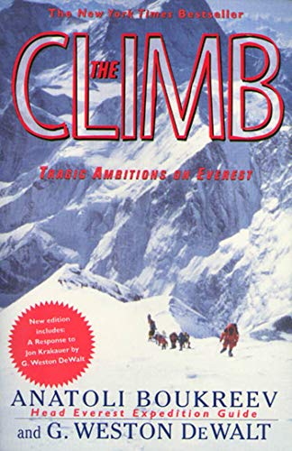9780312206376: The Climb: Tragic Ambitions on Everest