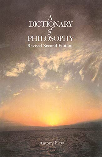 9780312209230: A Dictionary of Philosophy