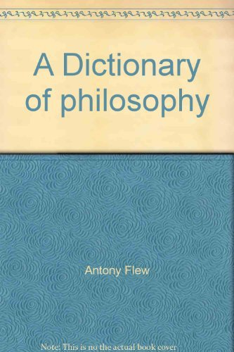9780312209247: Title: A Dictionary of philosophy