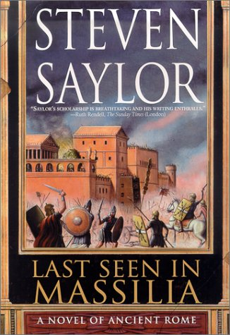 9780312209285: Last Seen in Massilia: A Novel of Ancient Rome