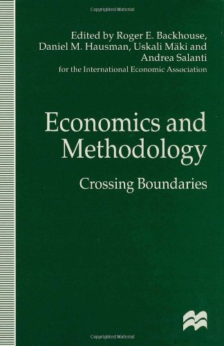 Economics and Methodology : crossing boundaries ;