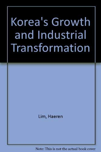 9780312212926: Korea's Growth and Industrial Transformation